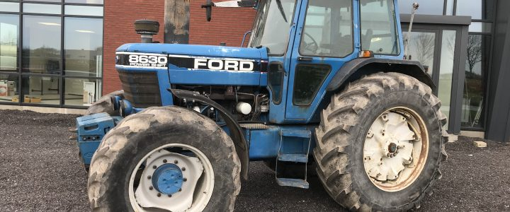 Ford 8630 POWER SHIFT  VERKOCHT