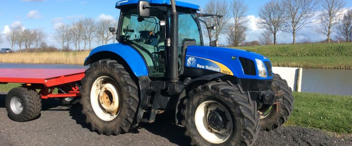 New Holland T6070. Range Command. VERKOCHT