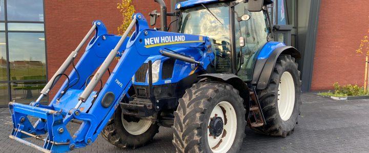 New Holland T6.140 VERKOCHT
